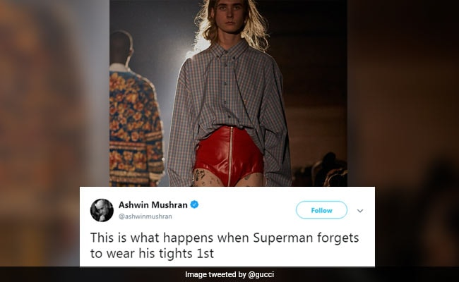 Omar Abdullah, Twitter Have Some Thoughts About This Men's Look By Gucci