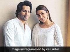 When In Lucknow: Anushka Sharma And Varun Dhawan Wear, What Else, <i>Chikankari</i>