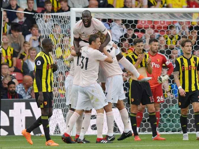 Premier League: Manchester United Battle Past Watford To Ease Pressure On Jose Mourinho