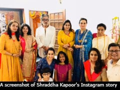 Ganesh Chaturthi 2018: Shraddha Kapoor And Family Continue A 56-Year-Old Tradition