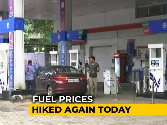 Video : Petrol Rates Surge Again, Diesel Prices Unchanged