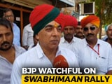 Video : Rebel Rajasthan BJP Lawmaker To Take Out His Own <i>Swabhiman</i> Rally