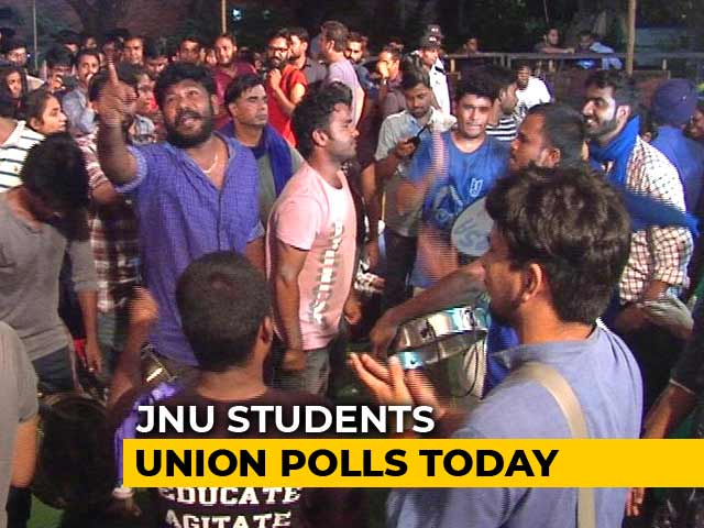 Video : JNU Student Body Polls Today, 8 Candidates In Fray