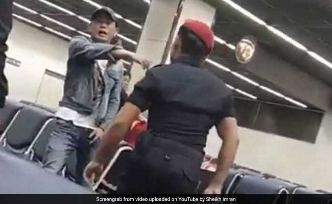 Video Of Tourist Hit By Thailand Airport Guard Goes Viral