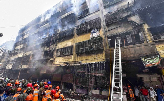 Complaint Against Owners After Massive Fire At Kolkata Market