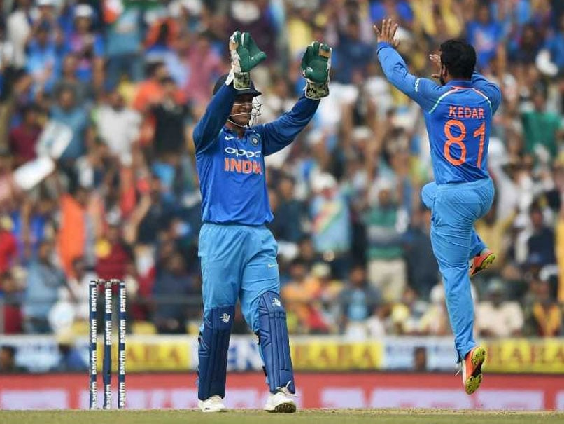 Asia Cup 2018: MS Dhoni Brought Out The Bowler In Me, Says Kedar Jadhav