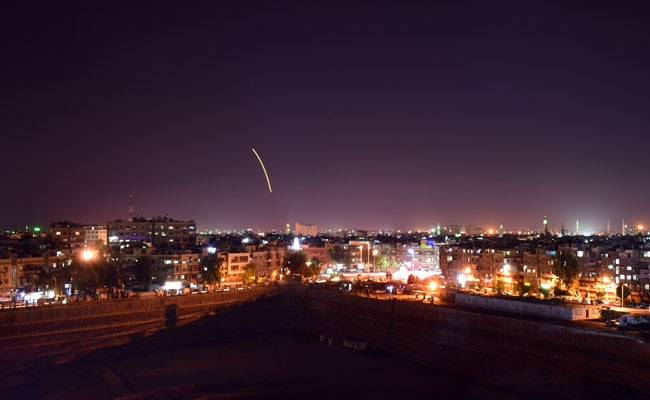 Syrian Anti-Aircraft Defences Fire At Enemy Targets Over Damascus: Report