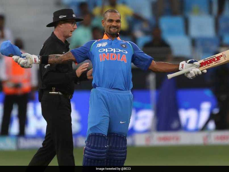 Asia Cup 2018: Shikhar Dhawan Scores 14th ODI Century As India Dominate Hong Kong