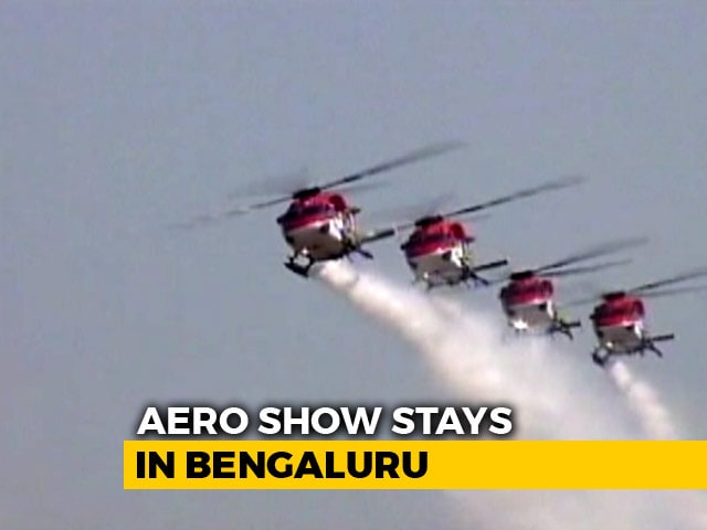 Video : Bengaluru To Host Aero India 2019, Confirms Centre After Row Over Venue