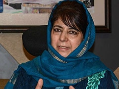 "Mehbooba Mufti Says Mannan Wani ""Victim"", Backs Sedition-Accused Students"