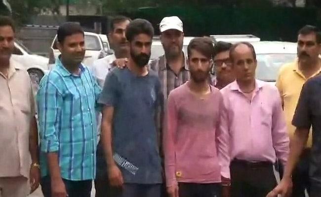 Terror Suspects Arrested Near Delhi's Red Fort Sent To Judicial Custody