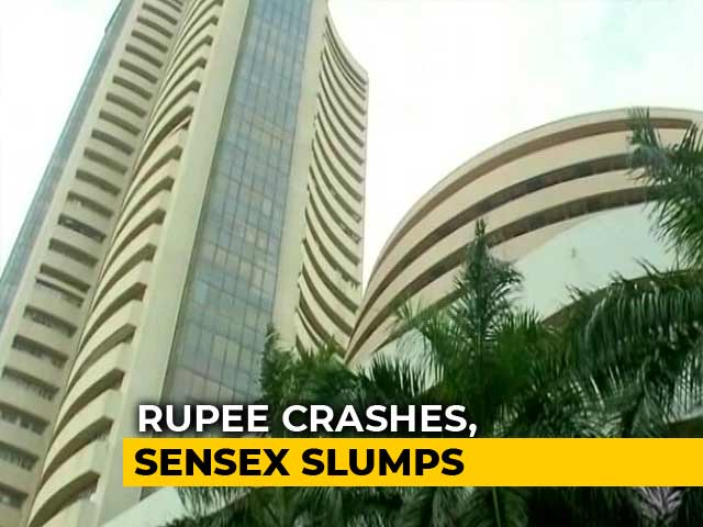 Video : Sensex Dives Over 500 Points As Steps To Lift Rupee Fail To Cheer Street