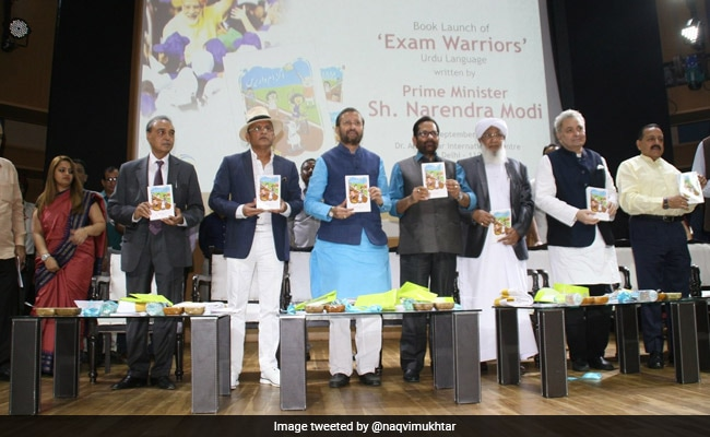 Urdu Version Of PM Modi's Book 'Exam Warrior' Launched