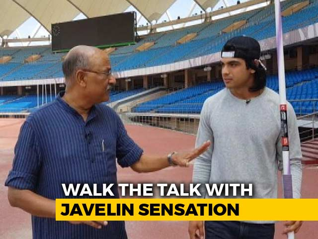 Video : Walk The Talk With Asian Games Gold Medallist Neeraj Chopra