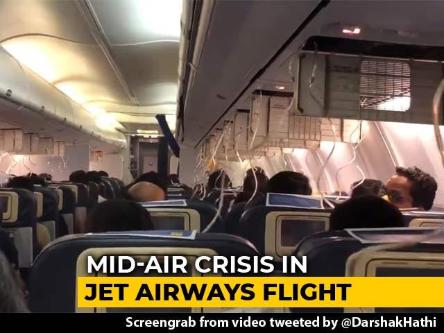 Video : Jet Flight Returns To Mumbai After Cabin Pressure Loss Causes Nosebleed