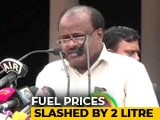 Video : As Fuel Prices Spiral, Karnataka Announces Rs. 2-Cut For Petrol, Diesel
