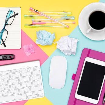 5 Stationery Items To Organise Your Work Desk