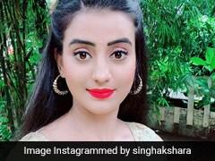 भोजपुरी एक्ट्रेस अक्षरा सिंह के 'अंखिये से गोली मारब' ने मचाया धमाल, 2 लाख बार देखा गया Video