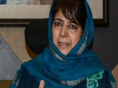 """Will Be Biggest Proof Of..."": Mehbooba Mufti Calls For Ramzan Ceasefire"