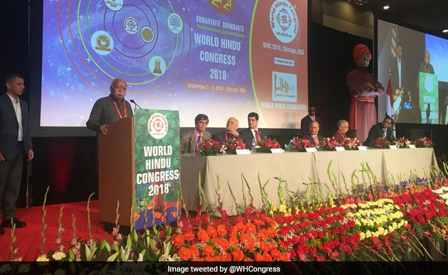 At World Hindu Congress In US, 'Soft' And 'Hard' Laddu Boxes For Guests