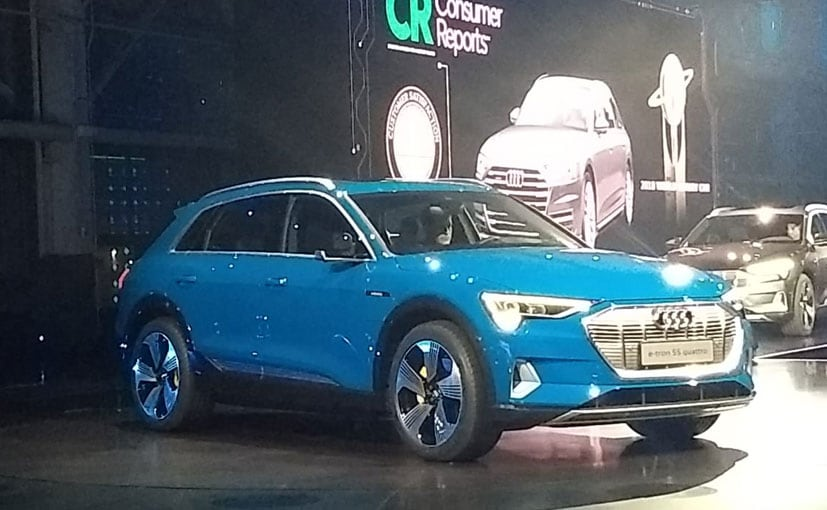 Audi E Tron Electric Suv Unveiled At 2018 Global Summit To Come India In 2019