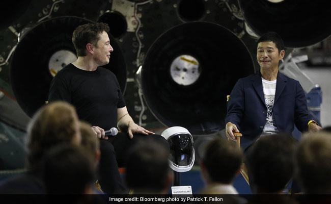 Meet The Billionaire Dreamer Taking Elon Musk's Rocket To The Moon
