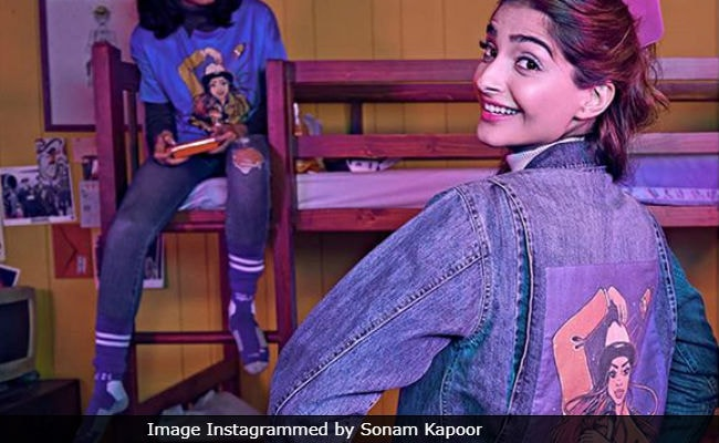 Sonam Kapoor's Jacket Reveals Who She Gets Her 'Sense Of Style' From