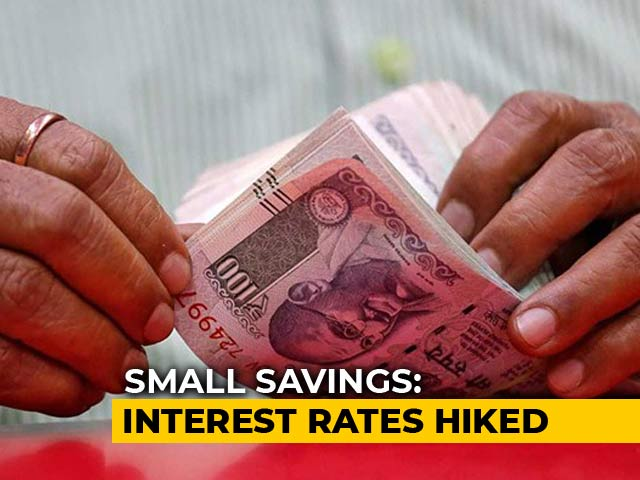 Video : Interest Rates On Public Provident Fund, Other Small Savings Raised