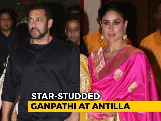 The Ambanis Celebrate Ganesh Chaturthi With Bollywood Celebs