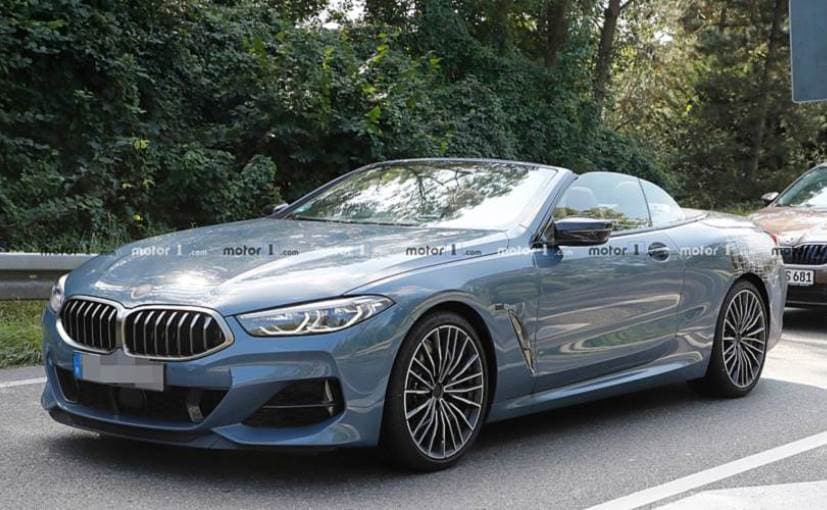Bmw 8 Series Convertible Spotted With Minimal Camouflage