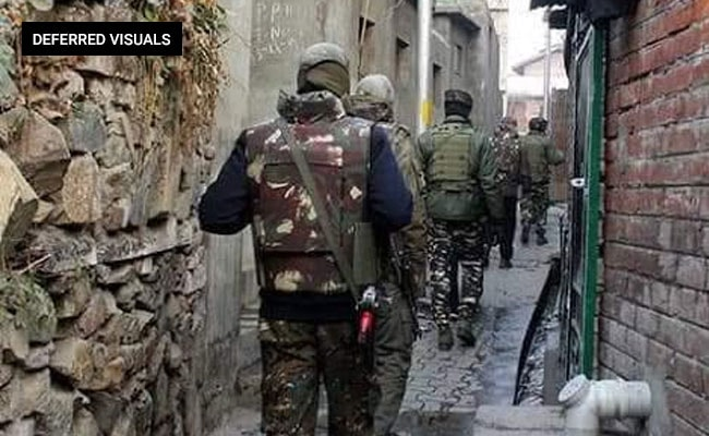 Big Search Operations By Security Forces In Jammu And Kashmir's Pulwama