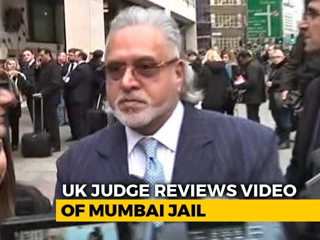 "Video : Mumbai Jail OK For Vijay Mallya? UK Court Reviews ""Step-By-Step Video"""