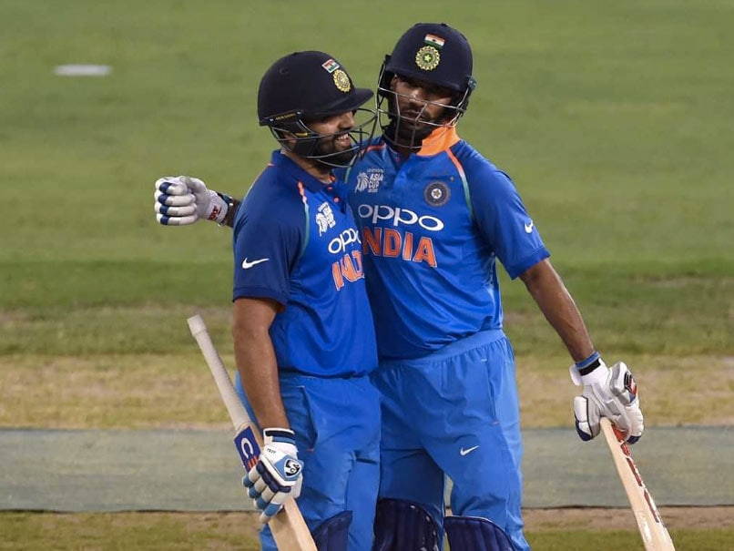 Post Asia Cup Triumph, Rohit And Dhawan Ascend In ICC ODI Rankings