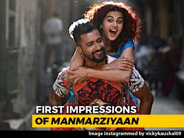 Video : First Impressions Of <i>Manmarziyaan</i>