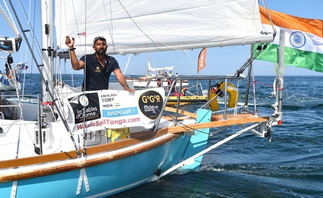 Indian Sailor Abhilash Tomy Hospitalised In Amsterdam Island