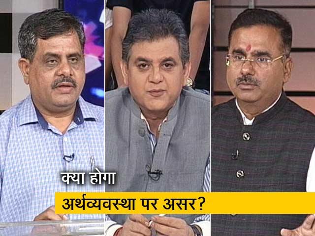 Videos : मुकाबला: क्यों लगातार गिर रहा है रुपया?