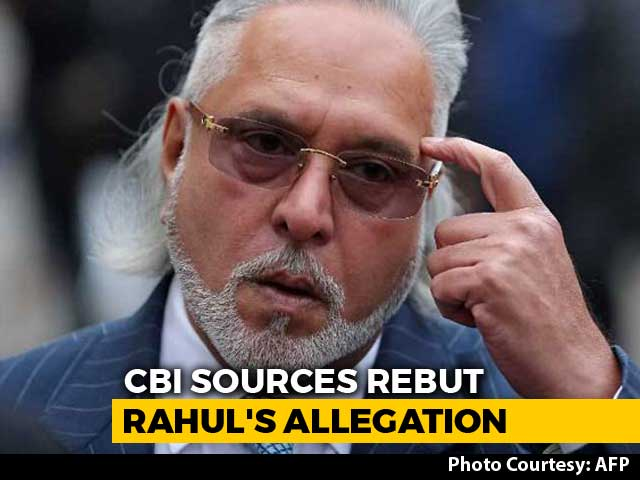 "Video : Decision To Change Vijay Mallya Notice Taken At ""Appropriate Level"": CBI"