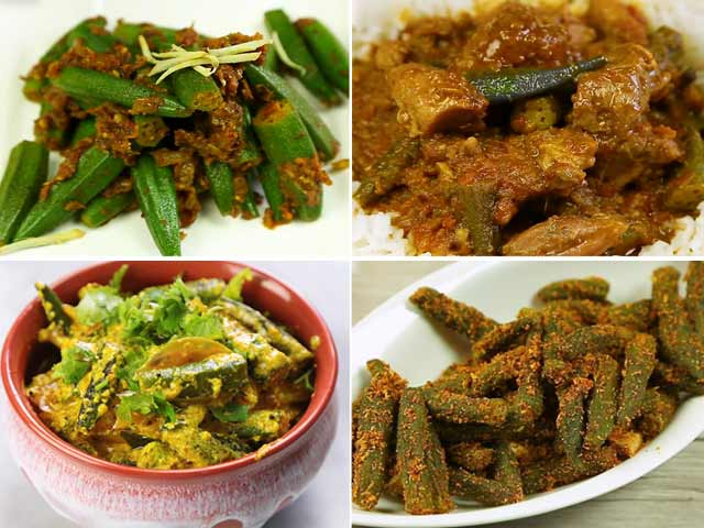 10 best indian recipes ndtv food 4 must try bhindi recipes forumfinder Images