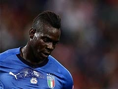 Italy Forward Mario Balotelli In Doubt For Portugal Game