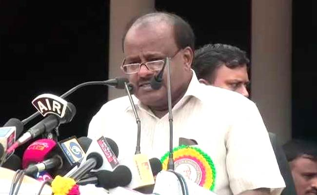 Seat Sharing Not Yet Discussed With Congress: HD Kumaraswamy