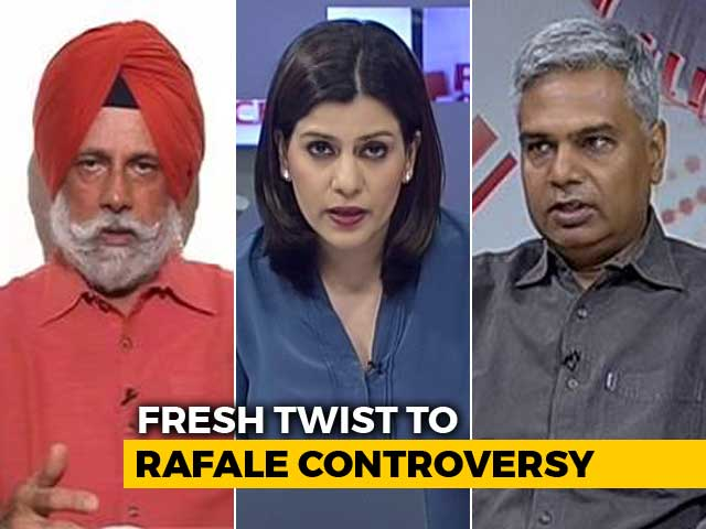 Video : Indian Govt Proposed Anil Ambani's Firm: Ex-French President's Rafale Bombshell