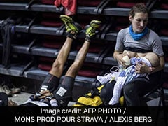 Mother Breastfeeds Baby In Between Running Tough Mountain Race. Here's Why