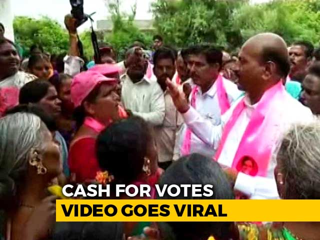 Video : Telangana TRS Lawmaker Heard In Video Offering Rs. 5 Lakh Bribe To Voters