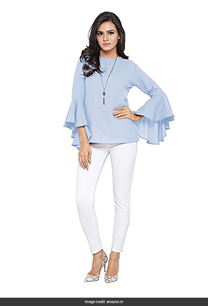 250e12fe4074b 5 Casual Tops With Bell Sleeves To Notch Up Your Style
