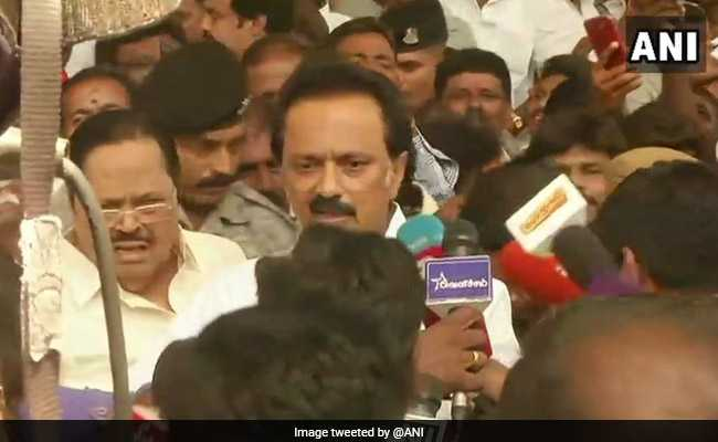 At Party Meet, DMK Accuses Centre Running 'Electoral Dictatorship'