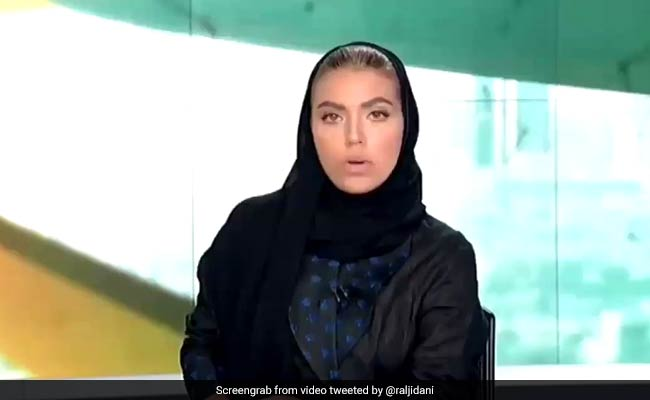 Saudi's First Woman News Anchor Makes Debut On Evening Bulletin