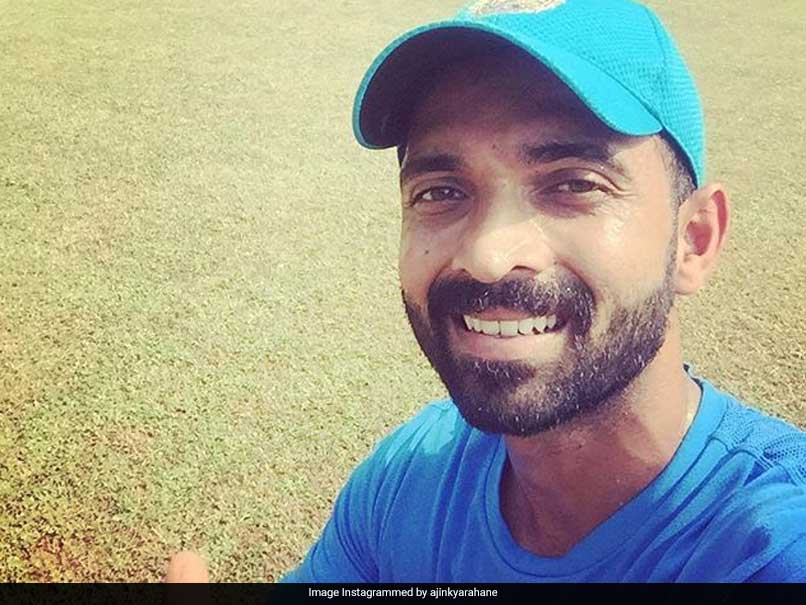 "Watch: Rahane Gears Up For Windies Test With ""Nice"" Batting Session"