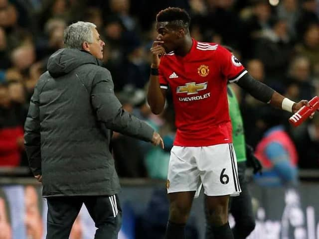 Jose Mourinho And Paul Pogba Filmed In Tense Manchester United Training Ground Exchange