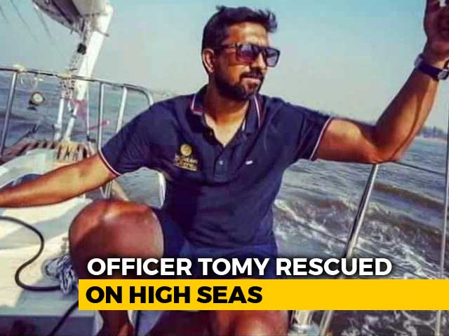 Video : Navy Officer, Stranded In Indian Ocean, Rescued In International Mission