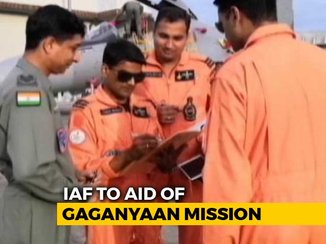 Video : India's Manned Space Mission Likely To Get Booster Dose From Air Force